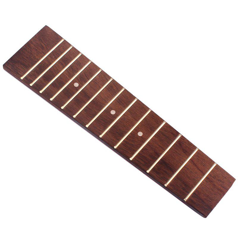 Best Rosewood Fretboard with 13 Chrome Frets White Dots Inlay for Ukulele