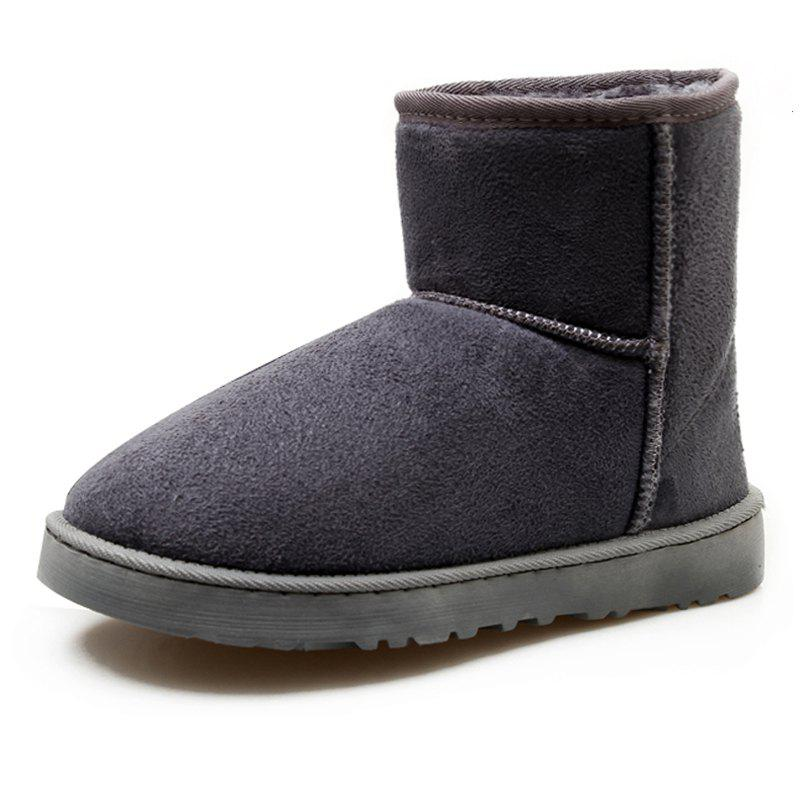 Discount Men's Boots Stylish Solid Color Comfortable