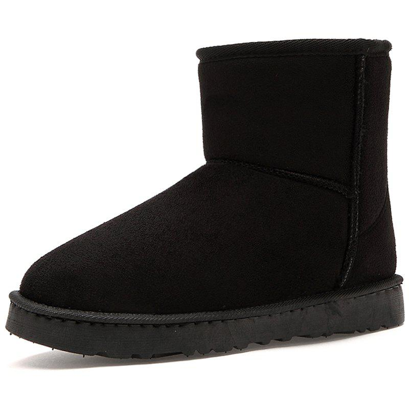 Store Men's Boots Stylish Solid Color Comfortable