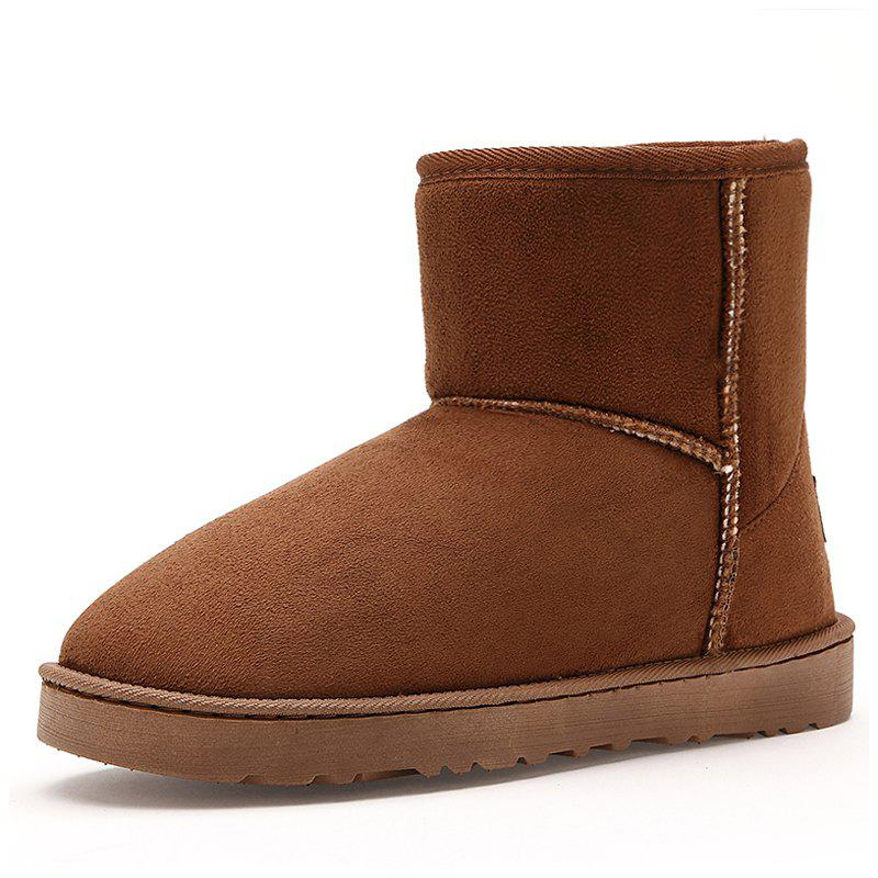 Unique Men's Boots Stylish Solid Color Comfortable