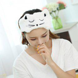 Adjustable Embroidery Cat Face Washing Hairband -