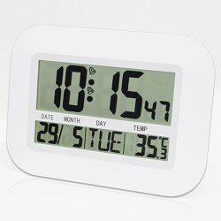 LCD Dispaly Digital Temperature Humidity Weather Station Clock -