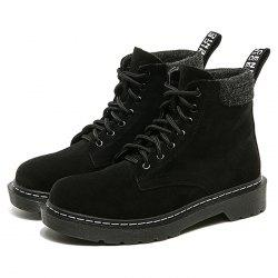 Women Boots Short Lace-up Fashion -