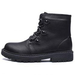 Men's Fashion Boots High Top PU Material for Outdoor -