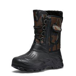 Men's Casual High Top Snow Boots -