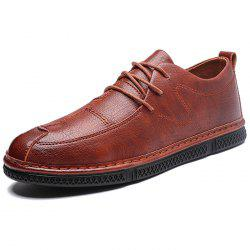 Men Casual Shoes Flat Lace-up -