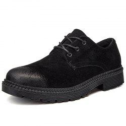 Men's Casual Leather Shoes Stylish Outdoor Durable -