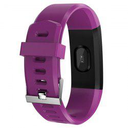 ID115 Plus Smart Bracelet 0.96 inch Screen Bluetooth 4.0 Call / Message Reminder Heart Rate Monitor Functions -