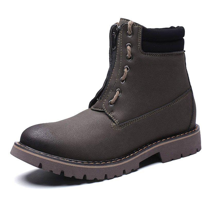 Fashion Men's Boots High Top PU for Outdoor