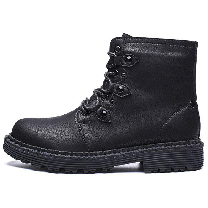 Buy Men's Fashion Boots High Top PU Material for Outdoor