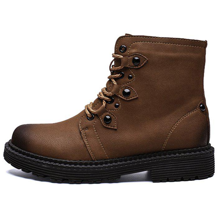 Unique Men's Fashion Boots High Top PU Material for Outdoor