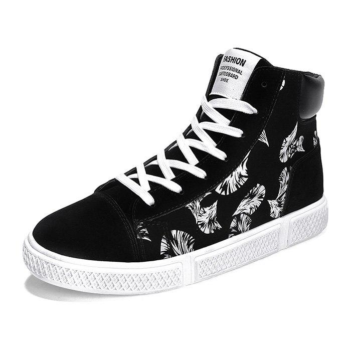 Outfits Men's Casual High Top Sneakers for Winter