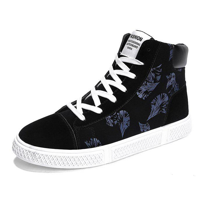 Unique Men's Casual High Top Sneakers for Winter