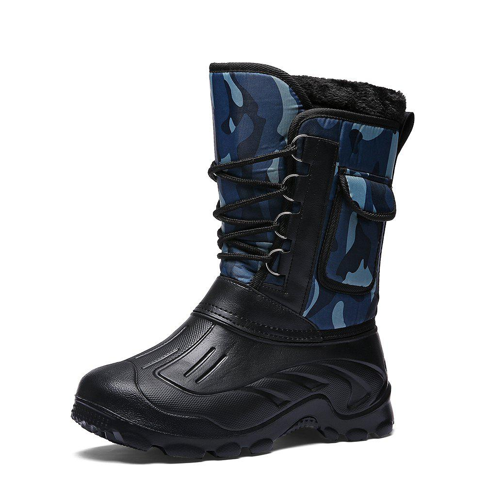 Outfit Men's Casual High Top Snow Boots