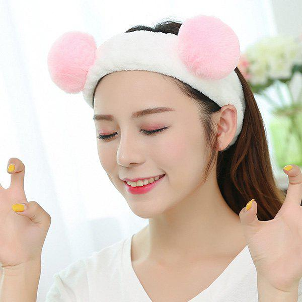 Trendy Velvet Headband Makeup Cosmetic Facial Cleansing Head Band for Girls / Women