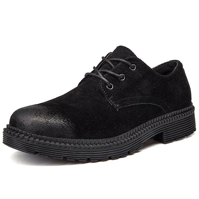 Buy Men's Casual Leather Shoes Stylish Outdoor Durable