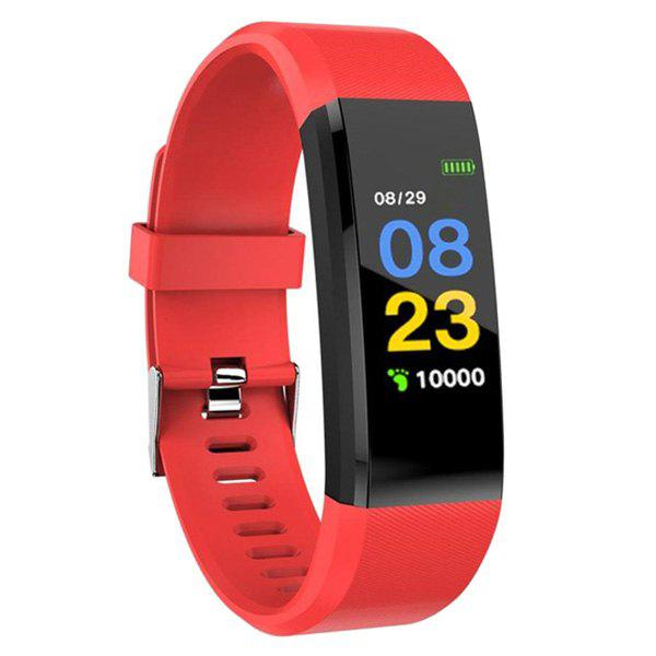 Unique ID115 Plus Smart Bracelet 0.96 inch Screen Bluetooth 4.0 Call / Message Reminder Heart Rate Monitor Functions