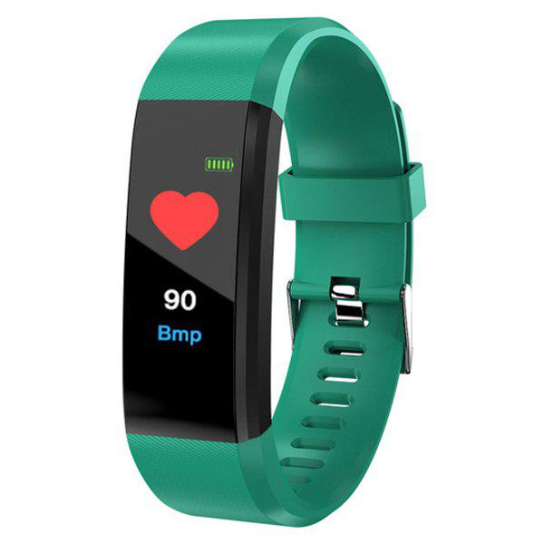 Trendy ID115 Plus Smart Bracelet 0.96 inch Screen Bluetooth 4.0 Call / Message Reminder Heart Rate Monitor Functions