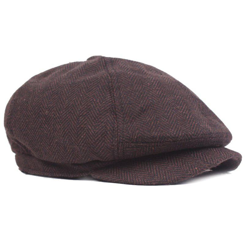Outfit BJ180 Stylish Zig-zag Octagonal Hat for Men