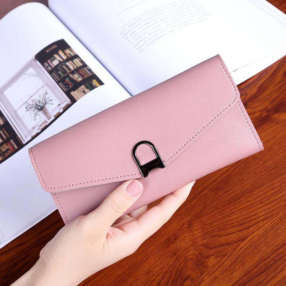 Cheap PU Leather Clutch Long Wallet Card Holder Bags