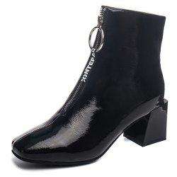 Fashionable Thick Heel Durable Boots -