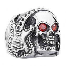 Men Ring Alloy Creative Pattern Halloween Play -