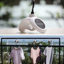 Multi-functional Solar Rotating Home Clothes Rack Hanger -