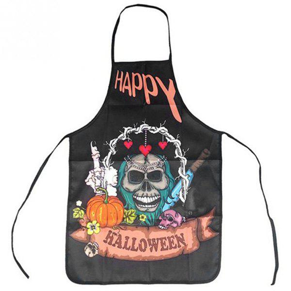 Chic Halloween Portable Gift Cooking Quirky Funny Kitchen Stylish Anti-Oil Apron