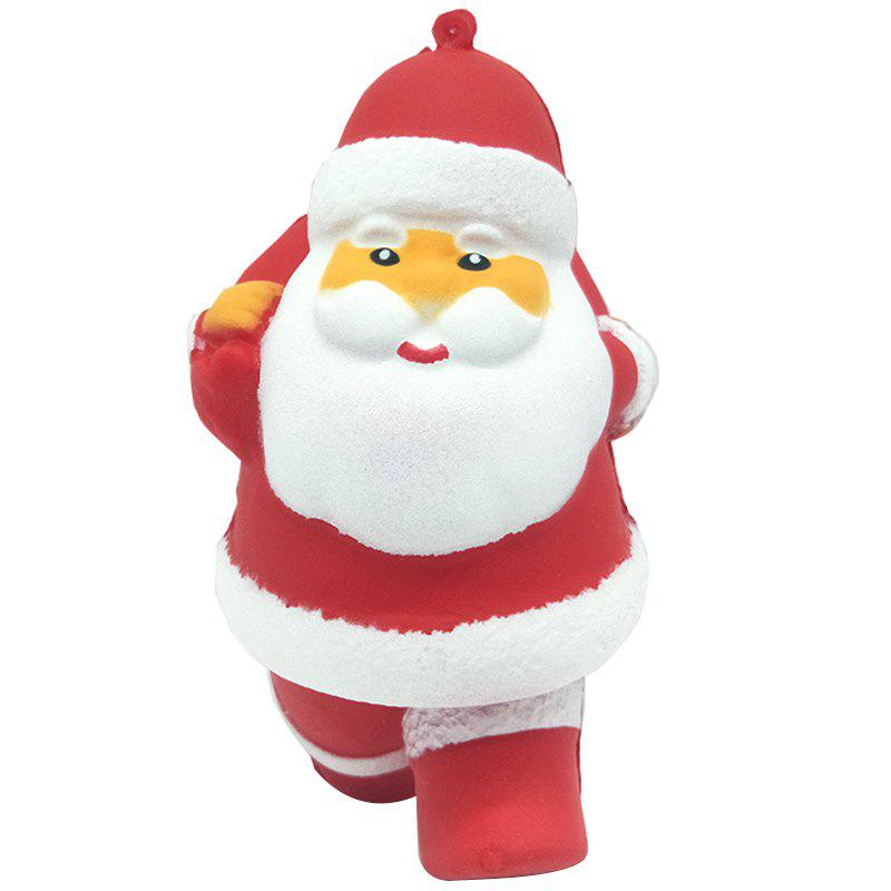 Outfits Cartoon Santa Claus Squishy Toy Slow Rebound PU