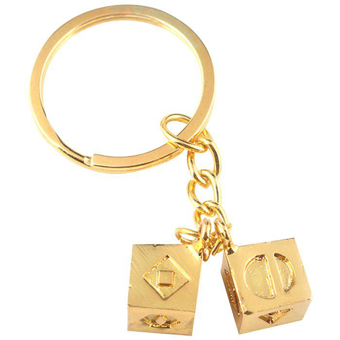 Latest Cool Dice Modeling Key Chain