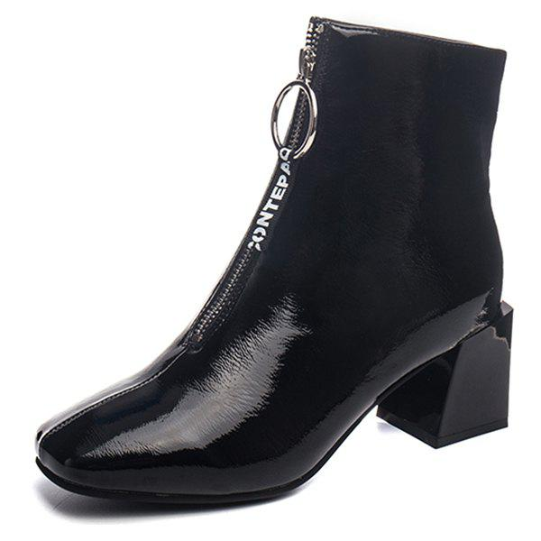 Fancy Fashionable Thick Heel Durable Boots