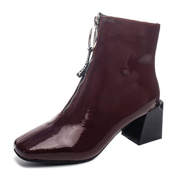 New Fashionable Thick Heel Durable Boots