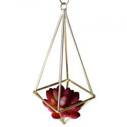 Oxygen-free Welding Iron Geometry Flower Stand for Decoration -