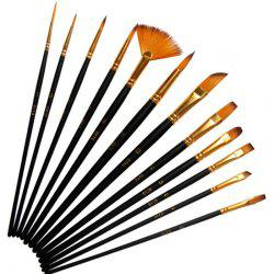 Art Painting Pen Brush 12PCS -