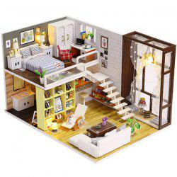 DIY Cottage Minimalist Urban House Model Toy -