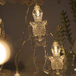 Halloween LED Horror Design Movable Light String -