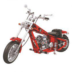 Educational Assembled Cruise Motorcycle Building Blocks Toys Set -