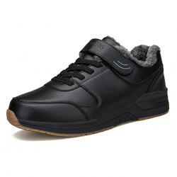Hommes Baskets Brossé Chaud Hiver Casual Chaussures -
