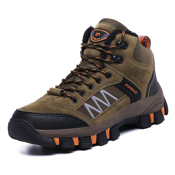Outfit Men Outdoor Hiking Shoes Durable Anti-slip Rubber