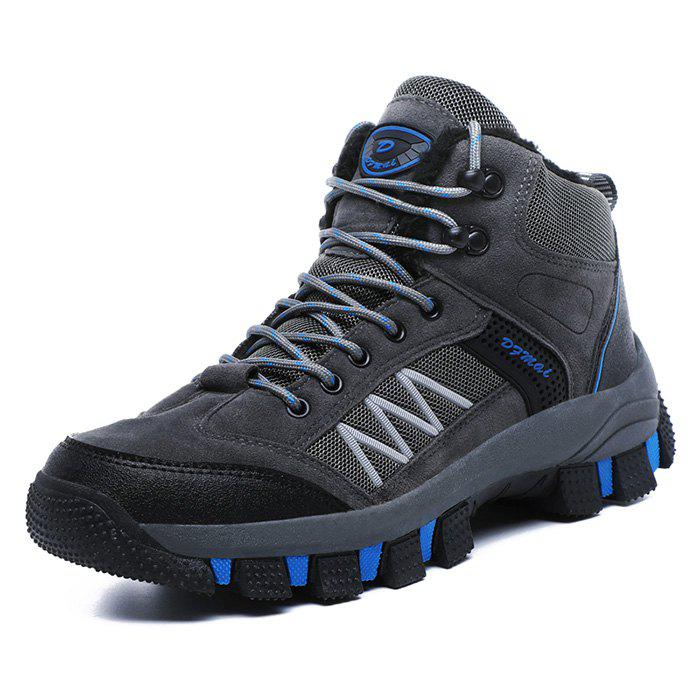 Online Men Outdoor Hiking Shoes Durable Anti-slip Rubber