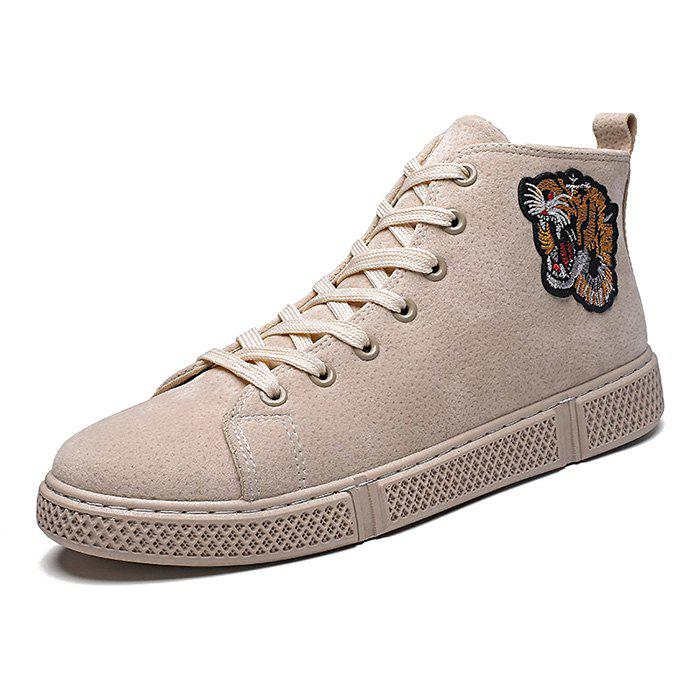 Latest Men High-Top Shoes Men Casual Shoes