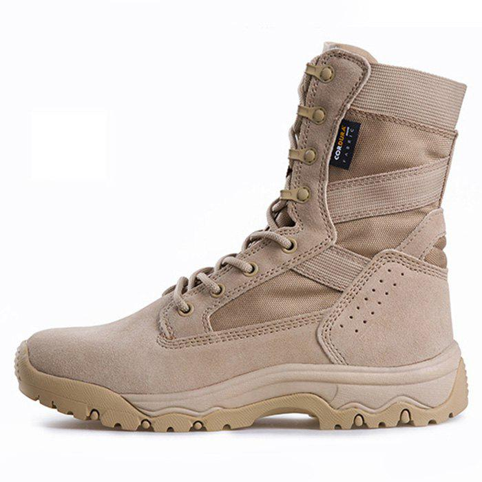 Trendy Tactics High Top Men Boots Breathable Non-slip Wear-resistant