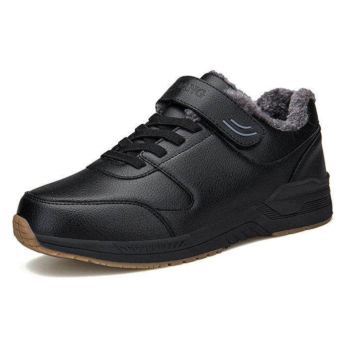 Hommes Baskets Brossé Chaud Hiver Casual Chaussures
