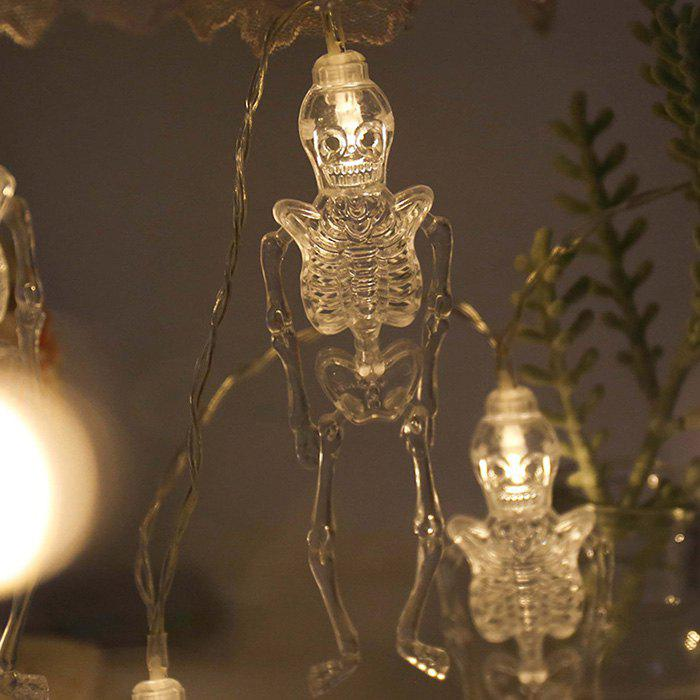 Trendy Halloween LED Horror Design Movable Light String
