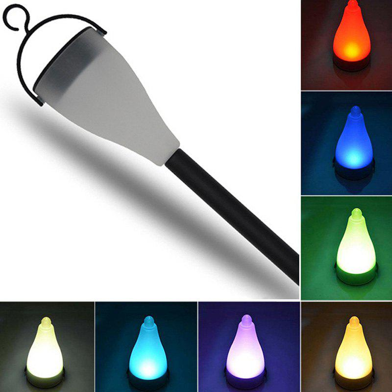 Affordable Outdoor Solar Lawn Seven Color Change Garden LED Night Light