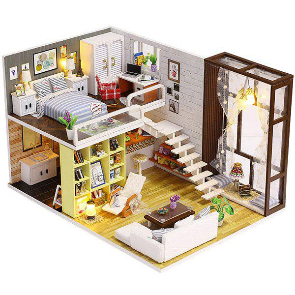 Outfit DIY Cottage Minimalist Urban House Model Toy