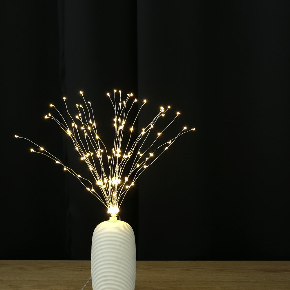 Cheap Utorch Fireworks Style Copper Line String Light for Decoration