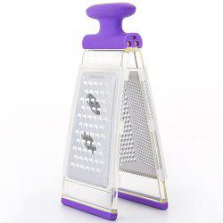 Stainless Steel Double Side Planer Creative Multi-function Cutting Peeler Kitchen Tools -