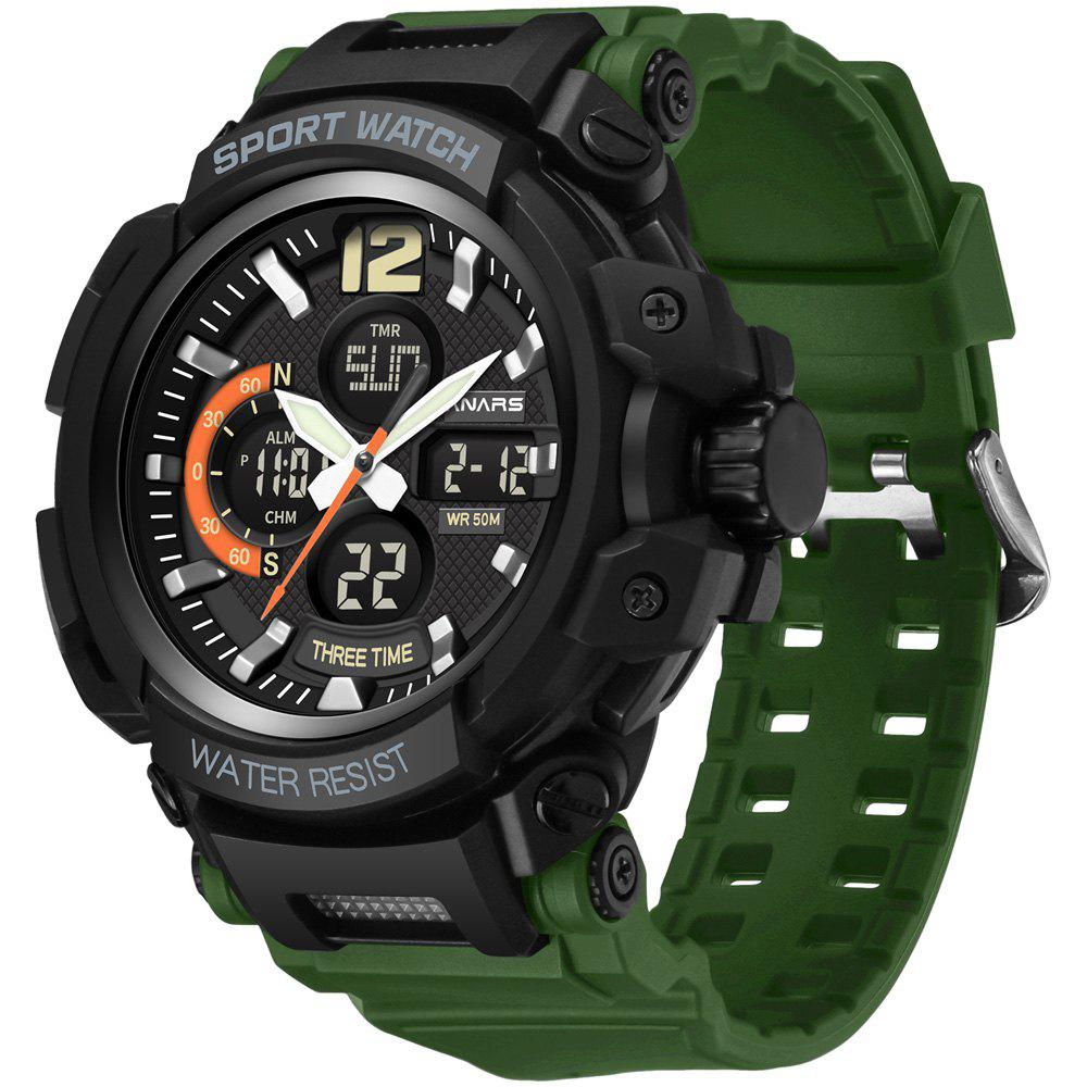 Store PANARS 8205 Digital + Quartz Waterproof Male Watch