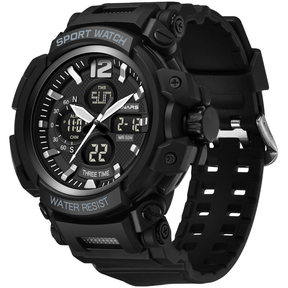Cheap PANARS 8205 Digital Quartz Waterproof Male Watch